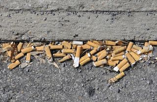 Cigarette-butts