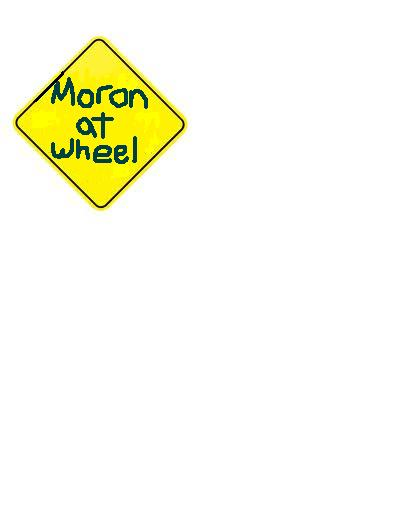 Moron at Wheel
